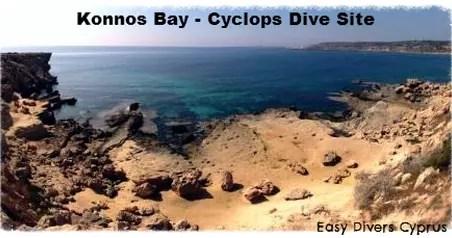 Cyclops dive site in protaras cyprus