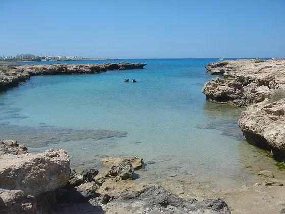 Green Bay Dive Site Protaras Cyprus