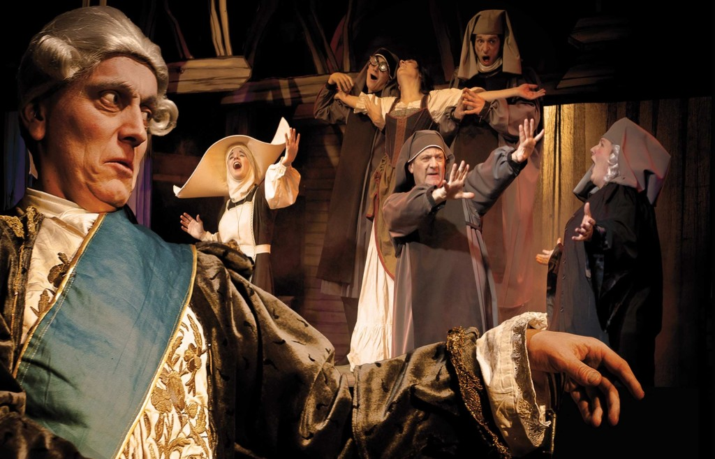 """Nuit torride à l'hospice"" (2014)  http://www.magicland-theatre.com/wordpress/category/saison/"