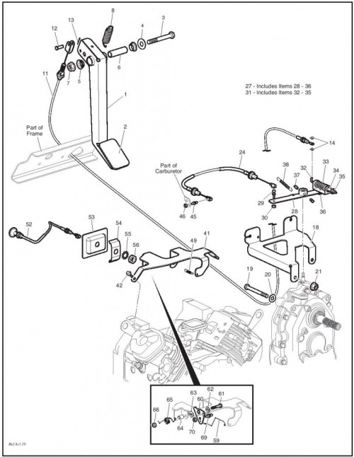Yamaha G2 Gas Golf Cart Wiring Diagram Wiring Layout Blog