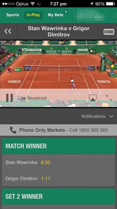 How to get Live Streaming Sport on your mobile