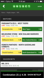 Bet Home Team NRL Multi