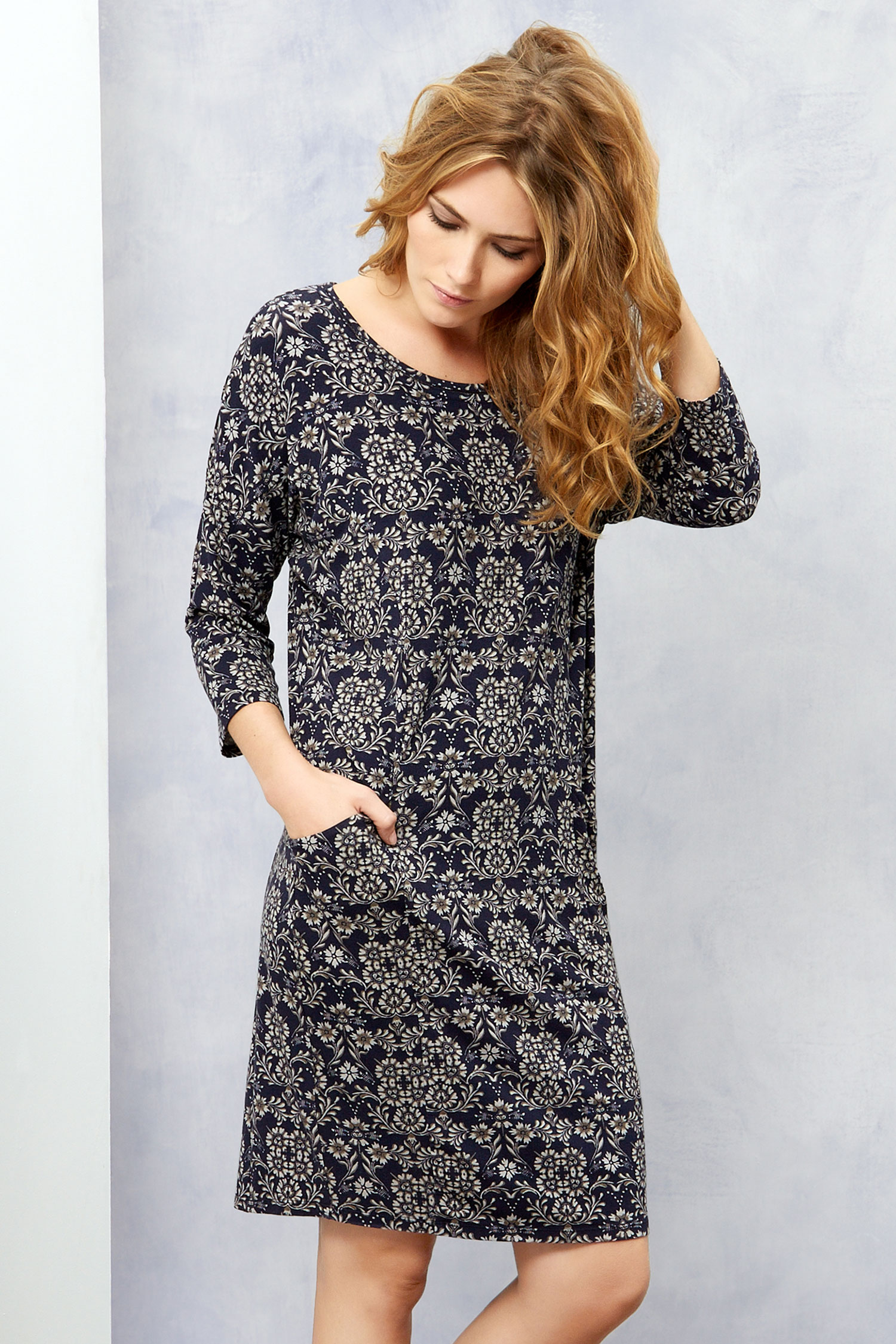 Floral Dress: Monsoon Alina Cocoon Dress