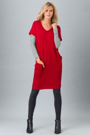 The weekend edit from Linda's Fashion Wishlist: the tunic, with leggings, long sleeve top and scarf. Style 129545