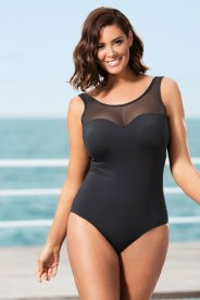 QUAYSIDE WOMAN MESH SWIM SUIT Style 141699