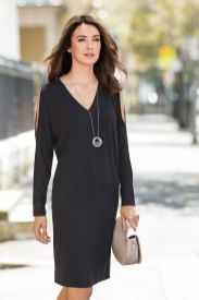 The Little Black Dress - Grace Hill Knit Dress Style Number: 149720
