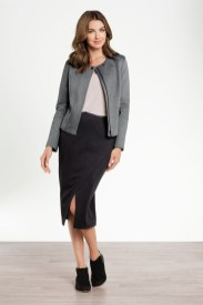 Ponti Jacket and Ponti Skirt