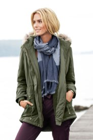 Capture have brought us the perfect Winter coat to accessorize with. Capture Parka Coat