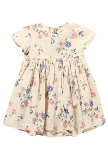 Next Ecru Floral Dress (3mths-6yrs)