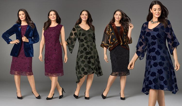 Plus size Velvet Clothing