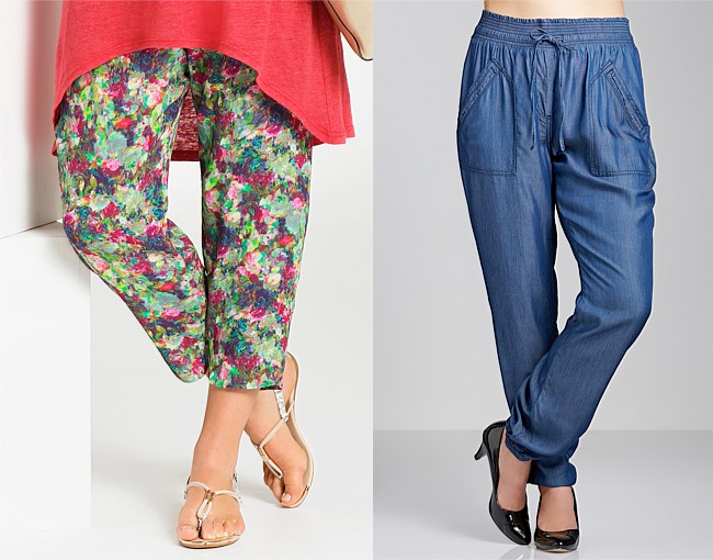 Emerge Woman Painterly Pants | Sara Tencel Pants