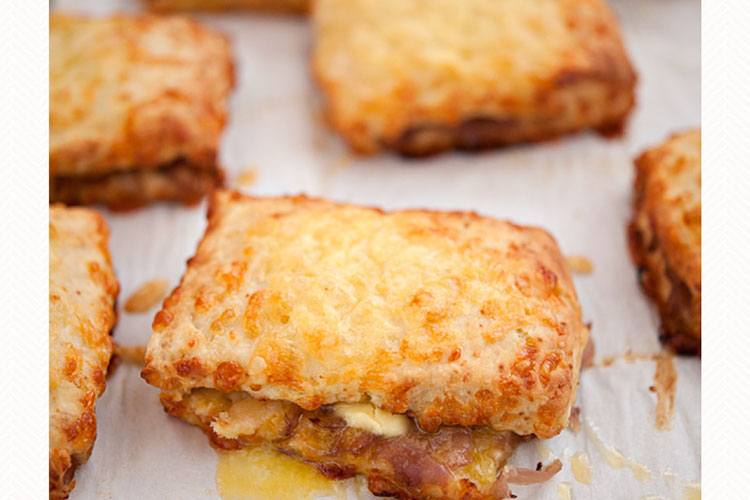 Caramelised Onion and Cheese Scones