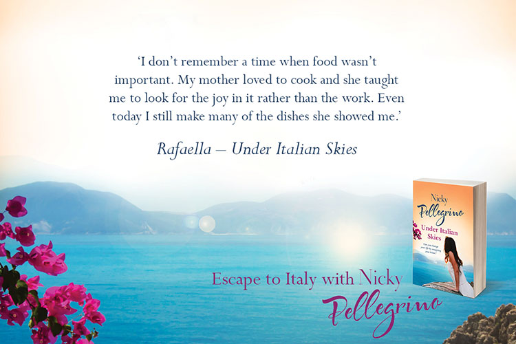 Easy Reads latest book, Under Italian Skies by Nicky Pelligrino