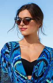 Cut out contemporary sunglasses