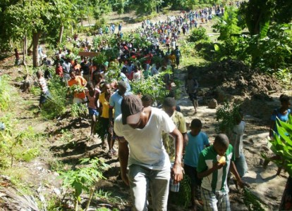 Ile A Vache resistance against Martelly-Lamothe government land grab