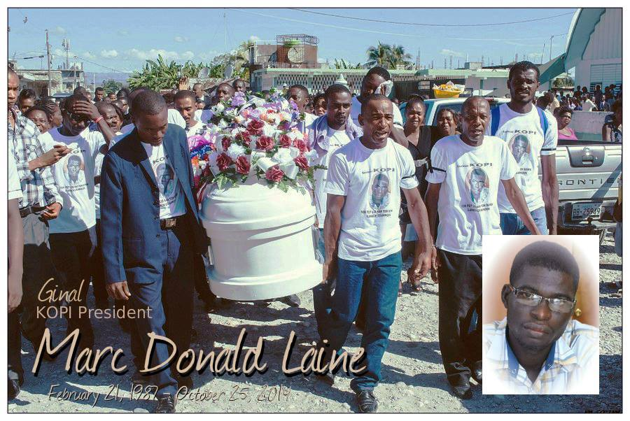 "Marc Donald ""Ginal"" Laine, president of KOPI dies under suspicious circumstances"