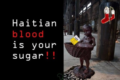 Haitian Blood is Your Sugar! Boycott Dominican Republic products, services, tourism and trade for denationalization and deportations. Stop the injustices. Tell Obama to stop forgiving DR slavery and illegal actions