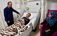 Turan, Yeni Yılın İlk Gecesinde Hastaları Ziyaret Etti