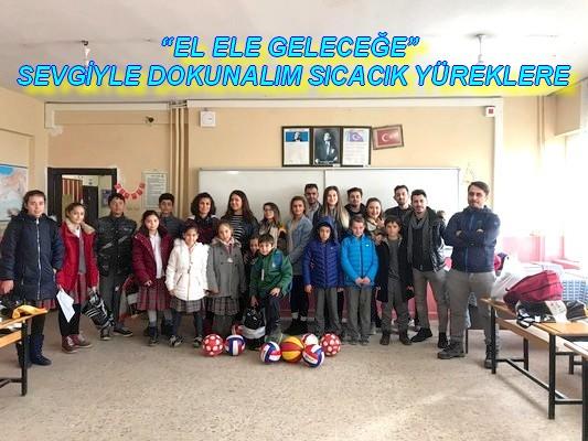 """EL ELE GELECEĞE"" SEVGİYLE DOKUNALIM SICACIK YÜREKLERE"