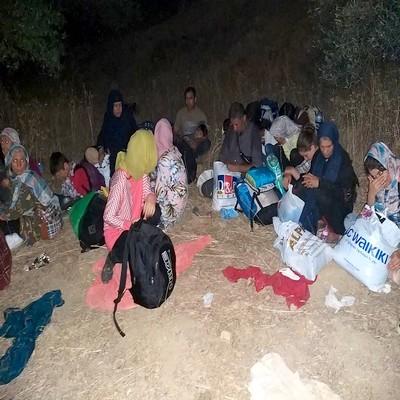 Çanakkale'de 1 haftada 450 düzensiz göçmen yakalandı