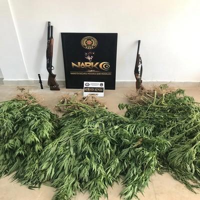 Çanakkale'de uyuşturucu operasyonunda 2 Tutuklama