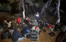 Ezine'de 45 düzensiz göçmen yakalandı