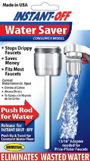instant off water faucet saver as seen on tv merchandise