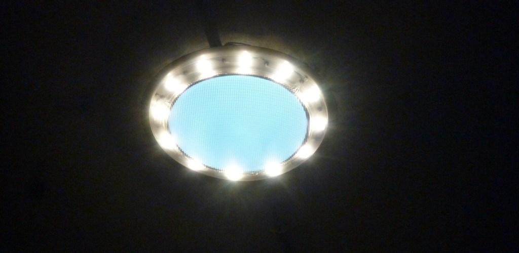 L'anneau à LED