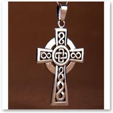 Wisior Krzyż Celtycki srebro  -
