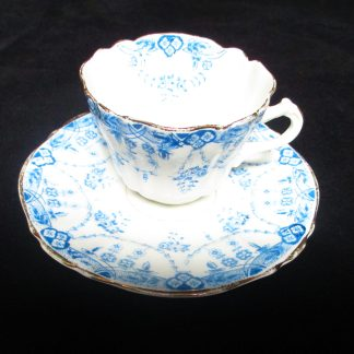 Antique Victorian Cup And Saucer c1800