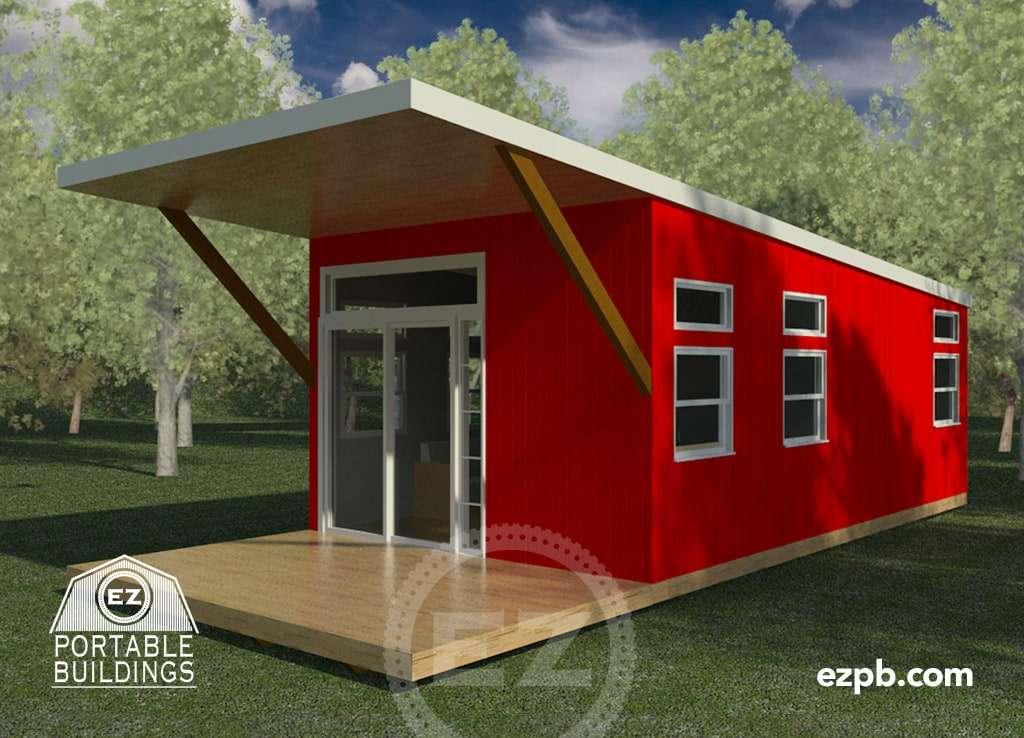 The Austin 2 Br Ez Portable Buildings Amp Tiny Houses