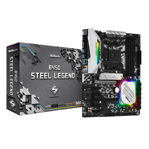 Asrock B450 Steel Legend 1