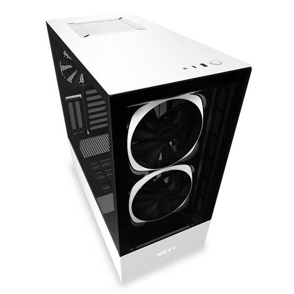 h510 elite matte white 1