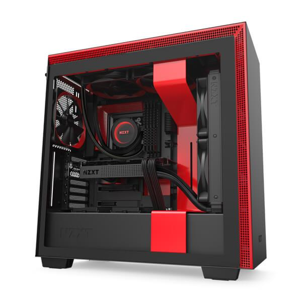 h710 matte black red 1