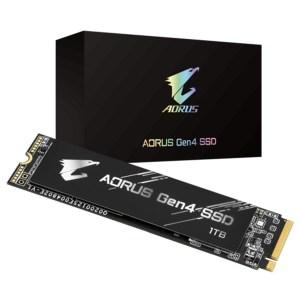 Gigabyte Aorus Gen4 1TB M.2 NVMe SSD
