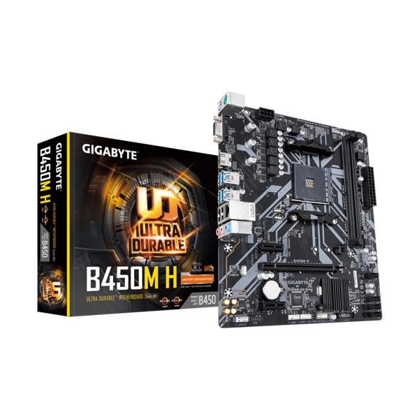 Gigabyte-b450m-H