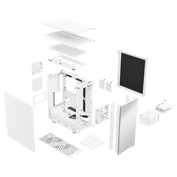 fractal design define 7 compact solid white 9