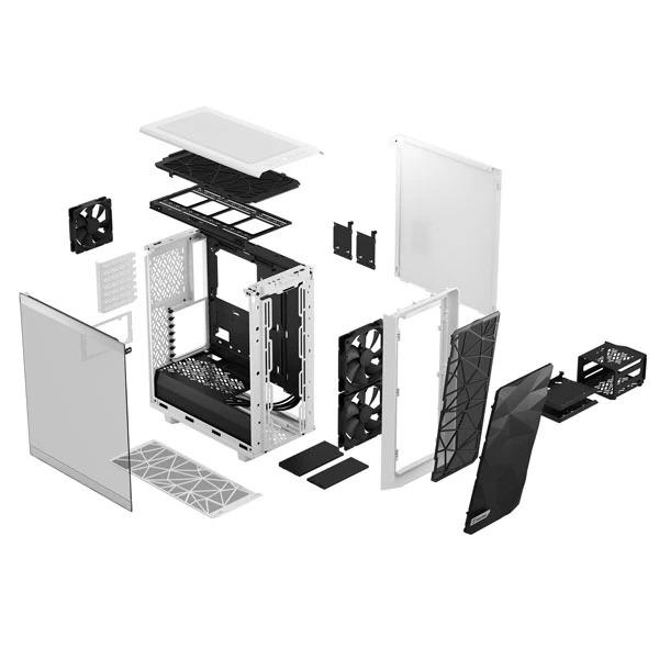fractal design meshify 2 c light white 9