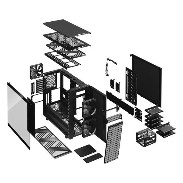 fractal design define 7 xl dark black 9