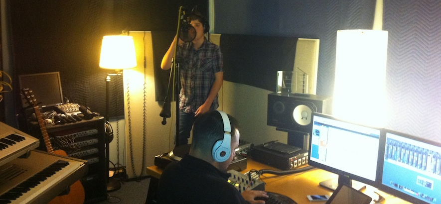 Ezra Henderson - In The Studio