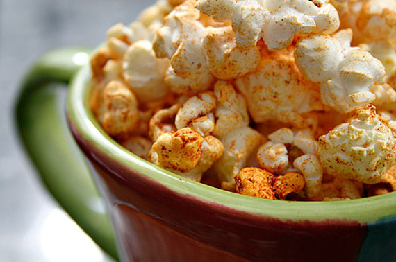 southwestern popcorn recipe
