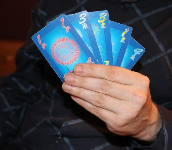 five card hanabi two player