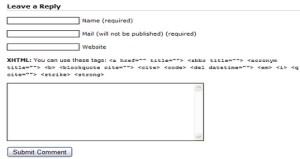 WordPress comment