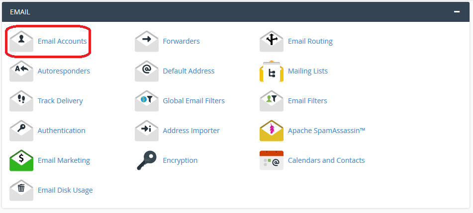 Email-Section-In-cPanel