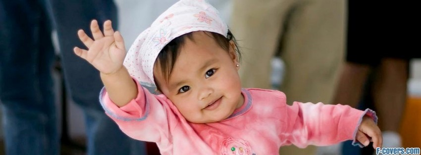 Asian Baby Girl Facebook Cover Timeline Photo Banner For Fb