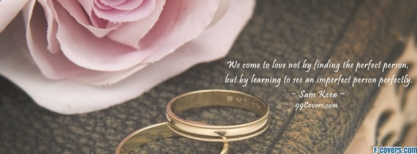 Beautiful Wedding Rings Facebook Cover Timeline Photo Banner For Fb
