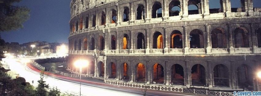 Rome Facebook Cover Timeline Photo Banner For Fb
