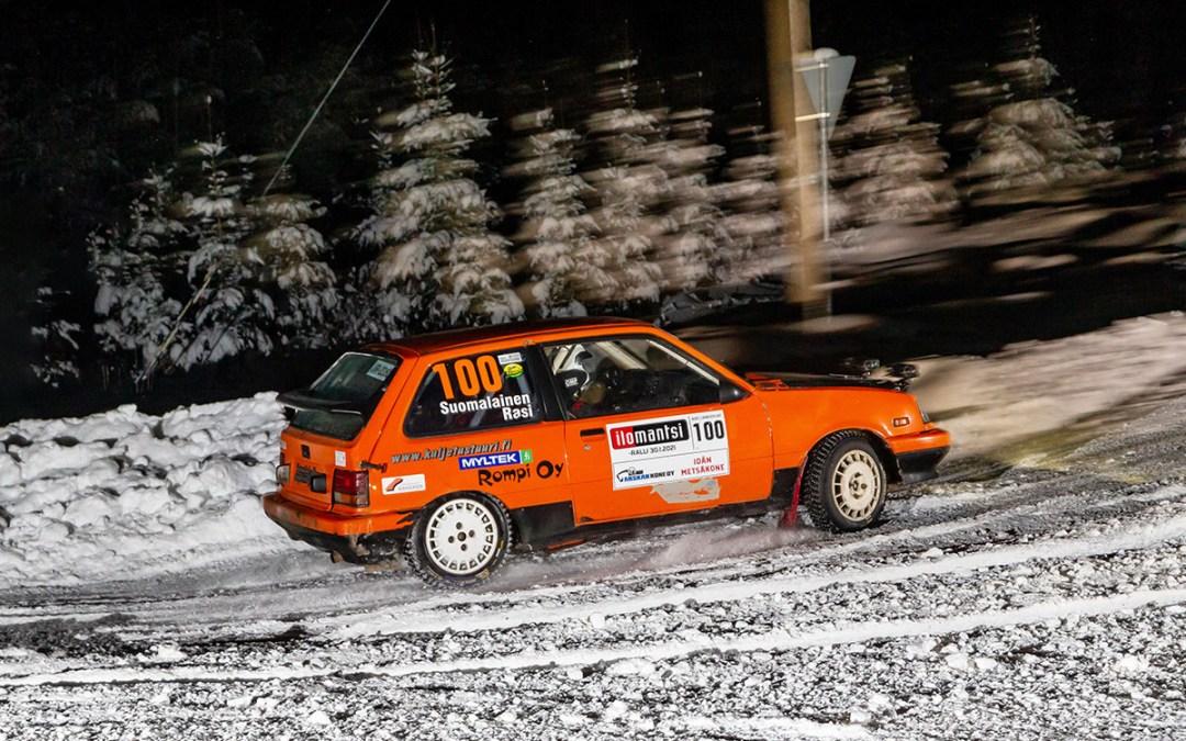 Suomalainen ja Martiskainen tasaavat F-Rally Trophyn kärkipaikan