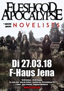 FLESHGOD APOCALYPSE + NOVELISTS @ F-Haus | Jena | Thüringen | Deutschland