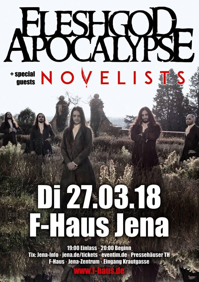 Fleshgod Apocalypse Novelists F Haus Jena